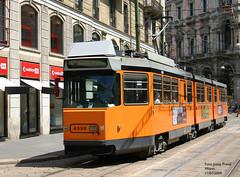 Milano 4998 (pretsend (jpretel)) Tags: milano atm tranvia tramway jumbotram 4900