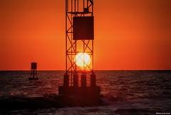 Buoy, Buoy.... (Joe Hengel) Tags: buoybuoy longneckde buoy buoys waves water watchingthesunrise sun sunlight sunrise morning morninglight horizon seaside sea seashore outdoor ocean atlanticocean sussexcounty delaware de silhouette silhouettes jetty
