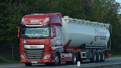 H - Revesz DAF XF 106 SSC (BonsaiTruck) Tags: ffb feldbinder revesz daf lkw lastwagen lastzug silozug truck trucks lorry lorries camion caminhoes silo bulk citerne powdertank