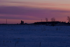 Rural winter sunrise (runningman1958) Tags: sunrise nikon d7200 nikond7200 winterscene winter dawn