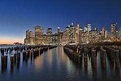 New York Blue Hour (Nowords!) Tags: ny new york 2019 brooklyn park cityscape város landscape apple xt2 fuij fuji fujilove xf1655