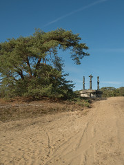 Hoge Veluwe - Kunstobject (ome.henk) Tags: amsterdamhenkwieland herfst hogeveluwe landal miggelenberg veluwe bomen bos landscape landschap 2018 kootwijk burgers natuur zand dieren