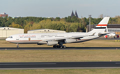Government of Egypt A340-200 SU-GGG (Johannes_K) Tags: planespotting aircraft aviation txl eddt berlin tegel airport air force egypt government a340 a342 a340200 cfm cfm56 suggg takeoff