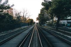 During Strike (takenbyicarus) Tags: athens train rails urban strike
