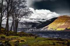 Awesome Scotland .... (Julie Greg .. Holiday 13/12 - 31/12 2018) Tags: sky scotland landscape lake tree trees texture colours clouds grass mountains