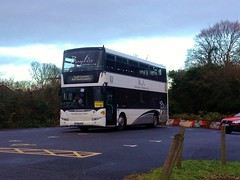 Bayliss YR61RSO on rail replacement duties at Canterbury West (Alex-397) Tags: bus buses kent canterbury transport replacement railreplacement