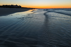 Kiawah Morning Wave Lines (matthewkaz) Tags: ocean atlanticocean water sunrise sun sky waves reflection reflections beach coast coastline shore shoreline kiawah kiawahisland sc southcarolina 2017