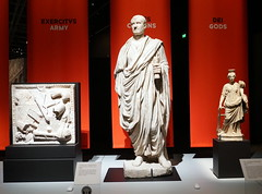 Rome and Empire Exhibition (LJMcK) Tags: rome classical statues sculpture roman ancient britishmuseum national museum australia canberra act