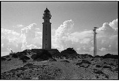 f80_108_30 (Ghostwriter D.) Tags: nikonf80 nikkor14 2017 spain spainespanaandalucia andalucia andalusia españa blackandwhite blackwhite bw lighttower faro
