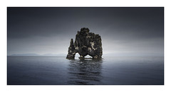 Blue Dragon (Nick green2012) Tags: dragon sea stack iceland seascape 21 minimal silence
