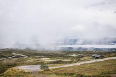 Foggy (BlossomField) Tags: foggy landscape mountain nature way bodø nordland norwegen nor