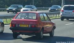 Volvo 340 1983 (XBXG) Tags: kg17tk volvo 340 1983 volvo340 volvo300 red rood rouge a9 amstelveen nederland holland netherlands paysbas youngtimer old classic swedish car auto automobile voiture ancienne suédoise sverige sweden zweden vehicle outdoor