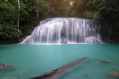 Erawan waterfall (nu ruddean) Tags: waterfall erawan beautiful forest background nature thailand green landscape tropical park kanchanaburi water plant leaf tree panoramic jungle cascade wild fall river paradise scenery heaven national fresh travel spring purity vacation freshness relax cool scenic foliage panorama flowing stream wonderful asia beauty outdoor floral limestone mountains landmark popular
