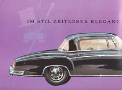 1959 Mercendes Benz 220S/SE Brochure (Hugo-90) Tags: 1959 mb mercedes benz 220s 220se ads advertising brochure car auto automobile fifties