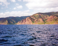 Scan07_Baikal (SmoKingTiger1551) Tags: russia siberia analog lake baikal rocks mountains