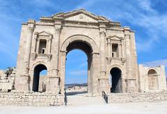 Arch of Hadrian (California Will) Tags: roman ruins jordan historic arch jerash middleeast grecoroman architecture