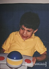Son - 489 (oterrason) Tags: son child playing videogame game cdi cdinteractive compactdiscinteractive philips electronics technology frustrated crying tearyeyes tears mad upset unhappy boy trackball humaninputdevice hid peripheral carlzeiss planart50mmf14cy contaxrtsii film tantrum