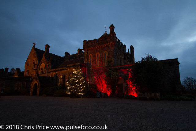 Knightshayes Court at Night