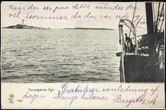 Postkort fra Agder (Avtrykket) Tags: fartøy fyr fyrtårn postkort sjø skip arendal austagder norway nor
