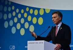 Conferencia de Prensa - Presidente Mauricio Macri - Día 2