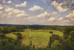 A View (Southern Darlin') Tags: landscape park photography photo nature naturephotography sky clouds trees texture photoshop brushes louisville kentucky summer