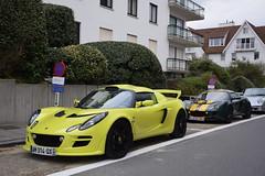 Lotus Exige S 2010 (D's Carspotting) Tags: lotus exige s 2010 belgium knokke yellow 20171008 am314qx zoute grand prix 2017 zgp17 zgp2017