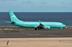 Boeing 737-8XH D-ASXO Sun Express Germany (EI-DTG) Tags: fue fuerteventura 29oct2018 b737 canaryislands boeing737 dasxo sunexpress