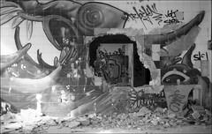 181111_Psiquiatrico_015 (Stefano Sbaccanti) Tags: bw blackandwhite analogicait analogue argentique bianconero leicam5 kentmere400 psiquiatrico asylum urbex urbanexploration abandonado 2018 50summicron spain