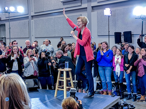 Elizabeth Warren in NH by marcn, on Flickr