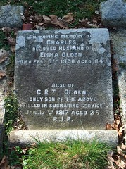 Engine Room Artificer 3rd Class Charles Richard Thomas Olden (Living in Dorset) Tags: wardead grave headstone wwi memorial 1917 1930 charlesrichardthomasolden stmaryschurch herriard hampshire england uk gb