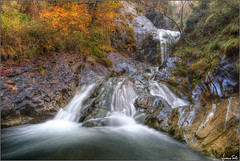 Dancig across the water (Luciano Silei - sky7) Tags: water waterfall longexposure ndfilter hdr landscape panorama paesaggi orvenco lucianosilei canon6d canon1740mm wideangle autumn autunno
