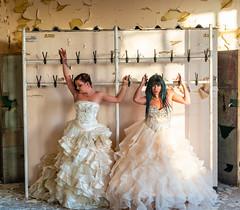 Wedding Day (LKB_Photography) Tags: urbex urban derelict old model models photoshoot england