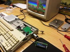 Atari 1040STF 20 (TPau65) Tags: atari 1040stf computer oldschool vintage 16bit classic gotek floppyemulator usb led display rotaryselector switch