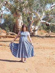 Laura Ashley (justplainrachel) Tags: ustplainrachel rachel cd tv crossdresser trans transvestite dress skirt vintage retro laurashley flounce outback australia full maxi