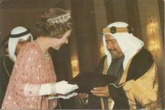 Amir of Bahrain with H.M. Queen Elizabeth II (tico_manudo) Tags: bahrain bahrein baréin orientemedio kingdomofbahrain stateofbahrain golfopérsico amirofbahrainwithhmqueenelizabethii queenelizabethii