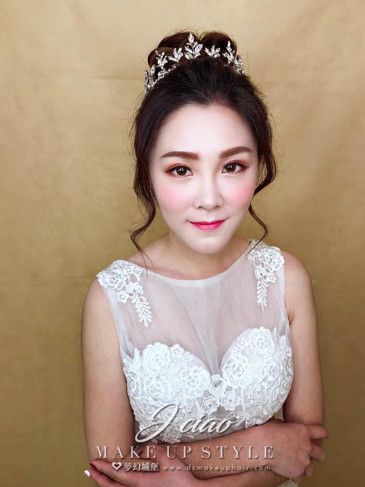 【新秘婕喬】新娘造型創作 / 典雅高盤髮