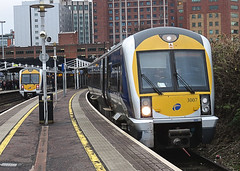 15:10 from Great Victoria Street to Derry/Londonderry (AllyJay2006) Tags: northernirelandrailways nir caf3000 greatvictoriastreet belfast