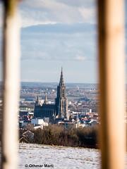 Ulmer Münster (OthmarMarti) Tags: badenwürttemberg deu dmcg6 deutschland eselsberg lumixgvario14140mmf3556 lumix14140mm panasonic ulm geo:lat=4841651880 geo:lon=995252596 geotagged münster minster rahmen frame