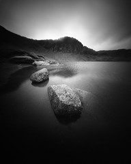 Stickle Tarn (Mark Rowell) Tags: stickletarn lakedistrict cumbria uk pinhole zeroimage zero45 4x5 5x4 largeformat bw blackandwhite ilford hp5 film