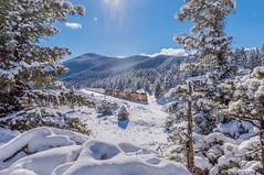 """Heavy Sand and Snow"" (Erik C. Lindgren) Tags: coloradorailroads coloradotrains bnsfrailway bnsf mountainscape landscape winterscape winterscapes winter snow mountainsnow mountains coloradorockymountains colorado"