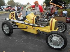 "1933 Ford-Riley Sprint ""Crack'n Riley Special"" (splattergraphics) Tags: 1933 ford riley sprint cracknrileyspecial watsonwatson racecar sprintcar carshow aacaeasterndivisionfallmeet antiqueautomobileclubofamerica aaca hersheypa"