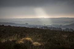 Exmoor National Park, England (Phil Spalding) Tags: moody weather exmoor national park england canon 6d l lseries 24105 overcast fields view sunshine light lightbeam beaming clouds cloudy
