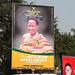 Kumasi midday - remembering the Asantehemaa
