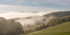 morning mist (hjuengst) Tags: mist misty fog foggy nebel neblig sauerland siegen landscape landschaft breitenbach volnsberg