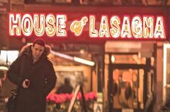 House of Lasagna (Capitancapitan) Tags: lasagna house nyc manhattan new york taxi yellow book neury luciano pentax colors camera