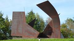 Josef Pillhofer, Raumentfaltung für H.L., 1950/2008 (sangiovese) Tags: josef pillhofer raumentfaltung skulptur stahl scultura acciaio steel sculpture museum liaunig