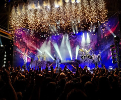 Sparkle (MAKER Photography) Tags: powerwolf stage concert live music death metal zenith munich germany crowd people guitar drums firework sparkle lights smartphone phone mobile oneplus 6