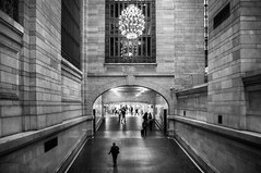 Grand Central (scrimmy) Tags: usa newyork grandcentralterminal railways blackandwhite