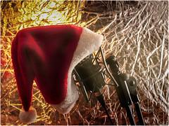 "Santa arriving is ""on the air"": Good Morning, flickr (celemirosotichez) Tags: lookingcloseonfriday decoraciónnavideña spiritofphotography"