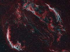 The Veil Nebula Complex (AllAboutRefractors) Tags: refractor astrophotography astronomy astrophysics nebulae nebula qsi star starlightxpress